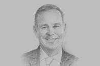 Sketch of <p>Tony Douglas, CEO, Etihad Airways</p>
