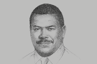 Sketch of <p>Ian Tarutia, CEO, National Superannuation Fund (nasfund)</p>