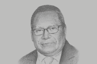 Sketch of <p>Loi Bakani, Governor, Bank of Papua New Guinea (BPNG)</p>