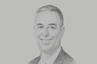 Sketch of <p>James Rice, Group CEO, Paradise Foods</p>