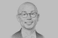 Sketch of <p>Christopher Po, Executive Chairman, Century Pacific Food</p>