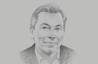 Sketch of <p>Marc Carrel-Billiard, Global Senior Managing Director and Technology Innovation Lead, Accenture Labs</p>