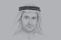 Sketch of <p>Abdullah Rashed Al Abdooli, Managing Director, Al Marjan Island</p>