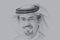 Sketch of <p>Hamad Buamim, President and CEO, Dubai Chamber</p>