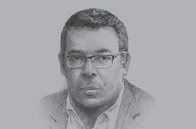 Sketch of <p>Ivan Pomaleu, Managing Director, Investment Promotion Authority (IPA)</p>