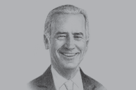 Sketch of <p>Joe Biden, US Vice-President</p>