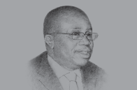 Sketch of <p>H A Kofi Wampah, Governor, Bank of Ghana (BoG)</p>