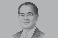 Sketch of <p>Lim Hng Kiang, Singapore Minister for Trade and Industry (Trade) </p>
