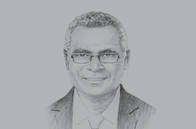 Sketch of <p>Manasseh Sogavare, Prime Minister, Solomon Islands</p>
