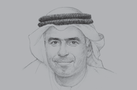 Sketch of <p>Obaid Humaid Al Tayer, Minister of State for Financial Affairs</p>