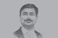 Sketch of <p>Richard Menezes, Managing Director, UTICO</p>