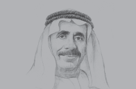 Sketch of <p>Yousef Obaid Al Nuaimi, Chairman, Ras Al Khaimah Chamber of Commerce and Industry</p>
