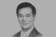 Sketch of Worsak Kanok-Nukulchai, President, Asian Institute of Technology