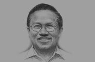 Sketch of Dipo Alam, Cabinet Secretary
