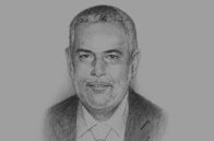 Sketch of  Abdel-Ilah Benkiran, Head of Government