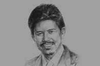 Sketch of HRH Prince Mohamed Bolkiah, Minister of Foreign Affairs and Trade