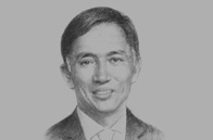 Sketch of Eduardo Francisco, President, BDO Capital & Investment Corporation, and Co-Chair, Capital Market Development Council