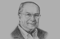 Sketch of Nicolás Ardito Barletta, Director-General, National Centre for Competitiveness