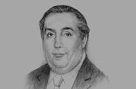 Sketch of  Federico Renjifo Vélez, Minister of Mines and Energy
