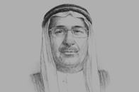 Sketch of Sultan bin Nasser Al Suwaidi, Governor, Central Bank of the UAE