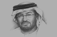 Sketch of Abdulla Nasser Al Suwaidi, Director-General, Abu Dhabi National Oil Company (ADNOC)