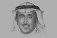 Sketch of Abdulwahab Al Bader, Director-General, Kuwait Fund for Arab Economic Development (KFAED)