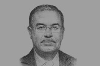 Sketch of Sherif Ismail, Minister of Petroleum
