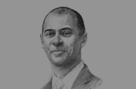 Sketch of Thierry Tanoh, CEO, Ecobank Transnational