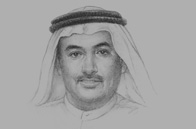 Sketch of Sultan Butti bin Mejren, Director-General, Dubai Land DepartmentSultan Butti bin Mejren, Director-General, Dubai Land Department