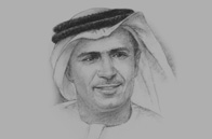 Sketch of Mattar Al Tayer, Chairman and Executive Director, Roads and Transport Authority (RTA)