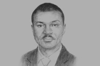 Sketch of Frank Nweke II, Director-General, Nigerian Economic Summit Group (NESG)