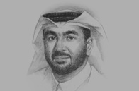 Sketch of Hesham Abdulla Al Qassim, Vice-Chairman, Emirates NBD