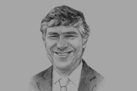 Sketch of Fabio Villegas, CEO, Avianca