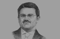 Sketch of Manoj Kohli, Managing Director and CEO International, Bharti Airtel