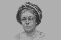 Sketch of Diezani Alison Madueke, Minister of Petroleum
