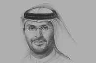 Sketch of Khaldoon Khalifa Al Mubarak, Group CEO and Managing Director, Mubadala