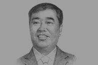 Sketch of Qiu Jianlin, Chairman, Zhejiang Hengyi Group