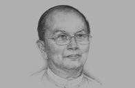 Sketch of President U Thein Sein