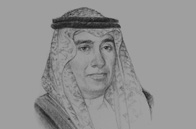 Sketch of Hani Mohammed Aburas, Mayor of Jeddah
