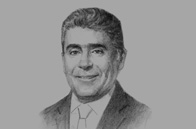 Sketch of  David Bojanini, President, Grupo SURA