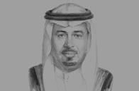 Sketch of Sultan J Shawli, Deputy Minister for Mineral Resources