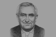 Sketch of Jean-Pierre Raffarin, Former French Prime Minister and Special French Envoy for Franco-Algerian Affairs