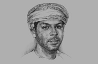 Sketch of Ziyad M Al Zubair, Director, The Zubair Corporation
