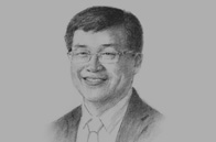 Sketch of  Pailin Chuchottaworn, CEO, PTT Group