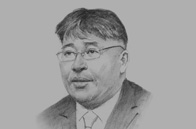 Sketch of S. Demberel, President, Mongolian National Chamber of Commerce & Industry