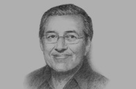 Sketch of  Former Prime Minister Mahathir Mohamad