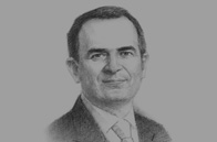 Sketch of Erde M Basci, Governor, Central Bank of the Republic of Turkey (CBRT)
