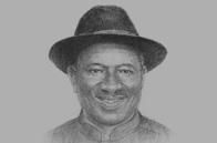 Sketch of President Goodluck Ebele Jonathan
