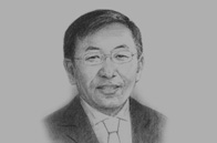 Sketch of P. Tsagaan, Chief of Staff, Office of the President