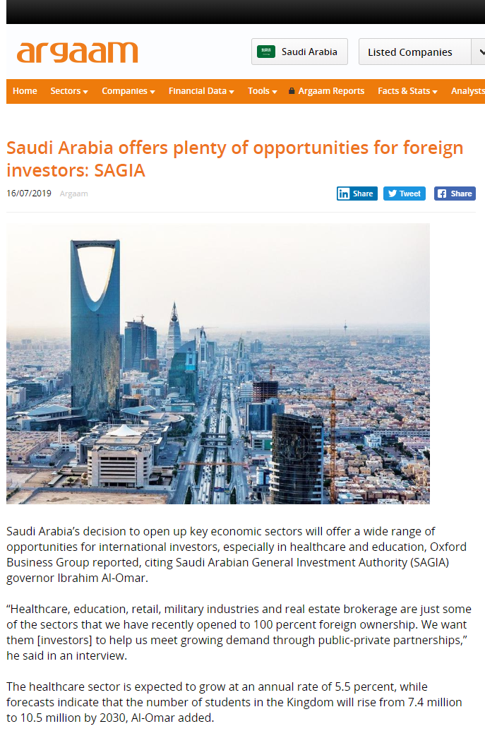 The Report: Saudi Arabia 2019 | Oxford Business Group
